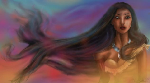 Pocahontas by ArtofBekSutton
