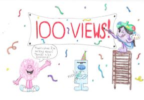 100 Views by OddballArtist