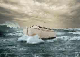The Ark of Noah by DiederikV