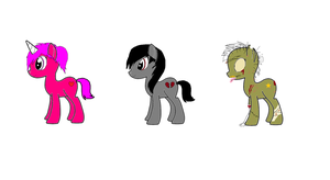 My Little Pony Adoptables by bieber90pink