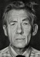 Sir Ian McKellen by Raiecha