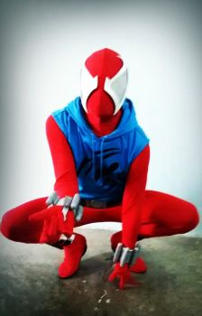 MY SECOND COSPLAY SCARLET SPIDER-MAN by MUERTITO69
