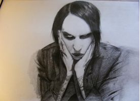 Marilyn Manson by CaptainChatelet