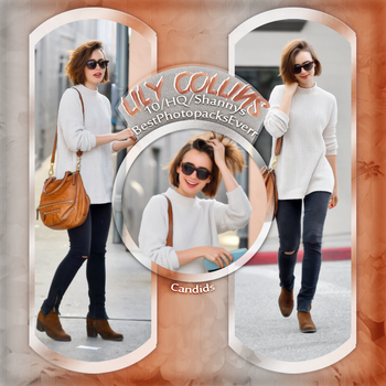 Photopack 3209 - Lily Collins by xbestphotopackseverr