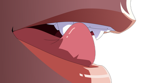 Shinobu Lips Vector by mike-rmb