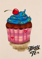 Promarker Cupcake by Tressytc