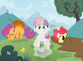 COMISSION - MLP: Training is Magic by reynaruina