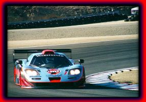 Gulf McLaren F1 at Laguna by mlmustang