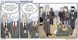 The Adventures of Business Cat - Impressions by tomfonder