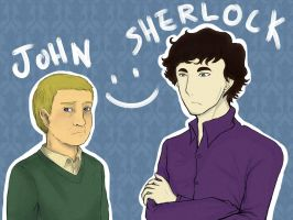 Sherlock:Collab by ryokuZero91