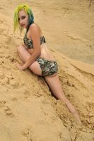 Kate - camouflaged commando 2 by wildplaces