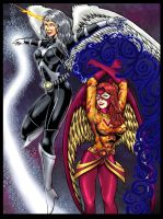 Commission:Silverhawk_Caity by johnbecaro
