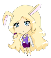 Bunny-girl adoptable for 5 points -CLOSED- by rika-kuso