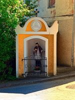 The saint in the small village chapel by patrickjobst