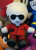 Dave Strider Plushie by ObscuredbyCloud