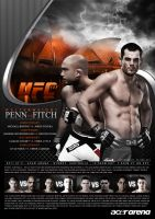 My UFC 127 poster design by olieng
