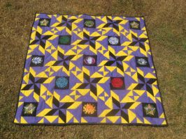 Five Elemnt Quilt by WillowForrestall