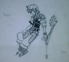 ::Old Drawing:: Ventus by OerbaVanille