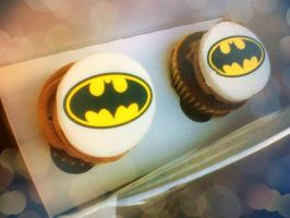 Batman Cupcakes by Wolfeyes899