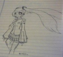 hatsune miku sketch by thejellybeanposse