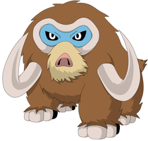 Mamoswine, the best ever by KingofAnime-KoA