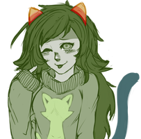 kitty sweater by xXliteXx