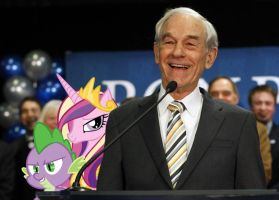 Spike's Defecting To Ron Paul by RicRobinCagnaan