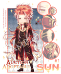 [CLOSED]Astral God #1- Auction Adoptable: Sun by Katzyrine