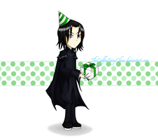Happy Birthday Severus Snape by TheCoffeeFairyChan