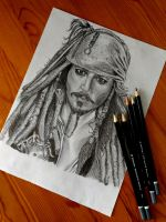 Jack Sparrow by luffywow