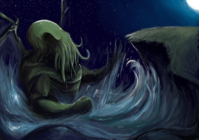 Cthulhu fhtagn by Sam-Reynolds