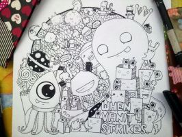 Doodle : when vanity strikes by eunhaerepublic