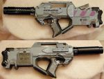 Nerf Rayven - Dominion Tank Police Style by Hypercats