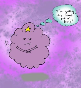 Lumpy Space Princess Fanart by angelicbutterfly789