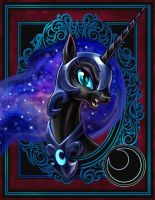 Nightmare Moon by harwicks-art