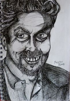 Tim Curry by molotovbomb