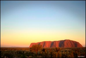 Uluru dawn HDR by andrearossi