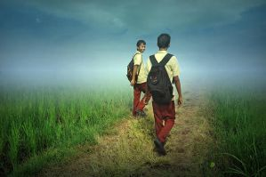 Go To School by apipro