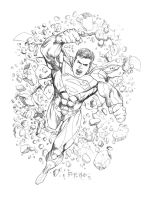 Superman New 52 by fernandomerlo