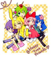 Happy Tree Friends by hotdogninja