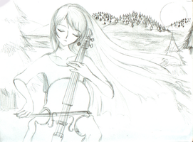 Cheryl's Cello by Anthesis