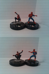 Miles Morales Ultimate Spider-Man custom Heroclix by TotallyNotTheDevil