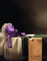 La Mort de Twilight Sparkle by Drakmire