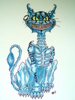 The Cheshire Cat by bella-muerte4
