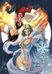 Fire and Ice color by qualano