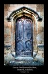 Door, Church of St. Mary, Hartwell. by majhul