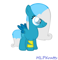 Glacial Breeze's Official Debut! by MLPKratts
