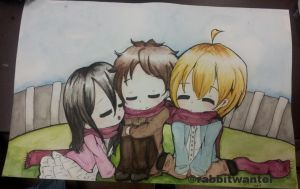 Attack On Cuties by rabbitwanter