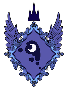 Princess Luna's Coat of Arms by Lord-Giampietro