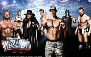 Wrestlemania XXVIII Wallpaper by Mr-Enjoy